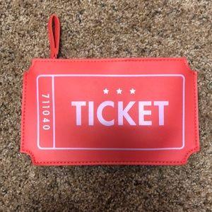 Handbags - Ticket Clutch